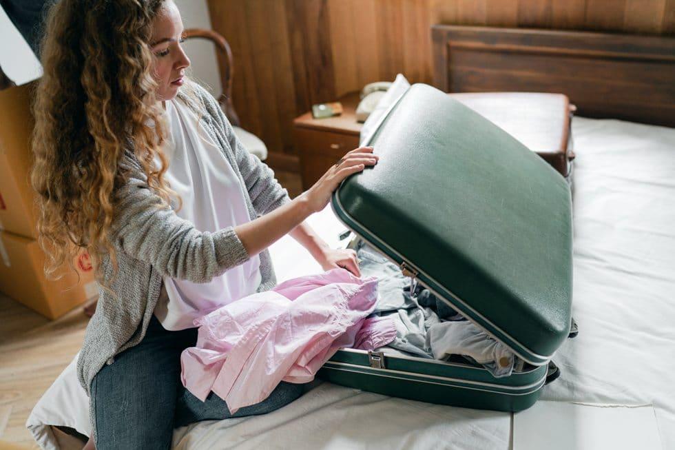 Materiales de las maletas de viaje