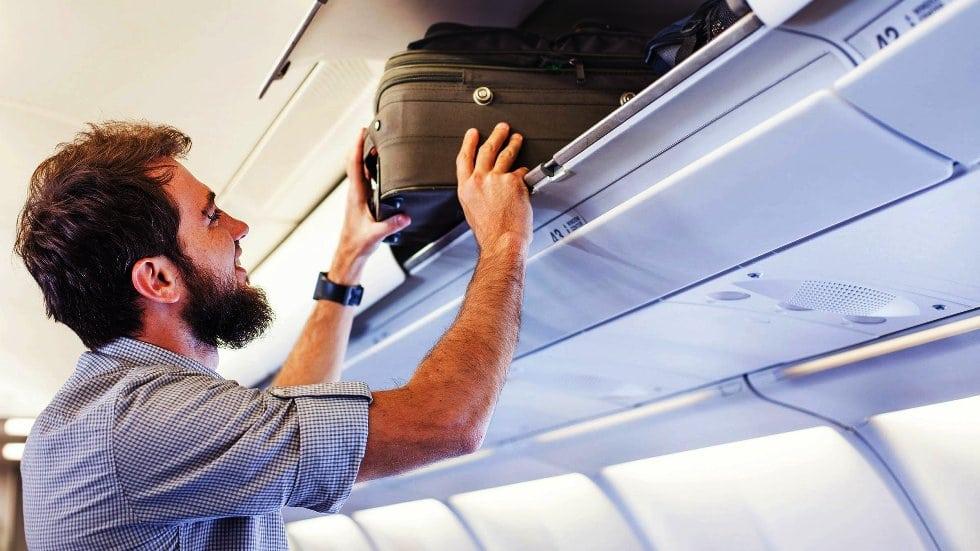 Mochila permitida para viajar en avión
