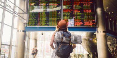 mochilas para viajar en avión