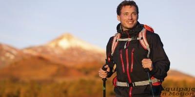 como usar baston de trekking o senderismo